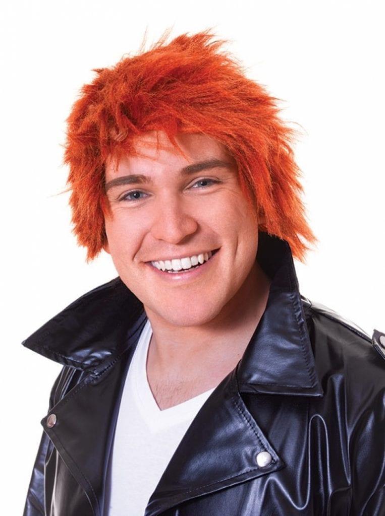 80S Chisel Wig Ginger