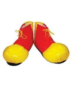 Clown Shoe Covers Adult