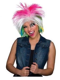 80'S Female Wig Multicoloured