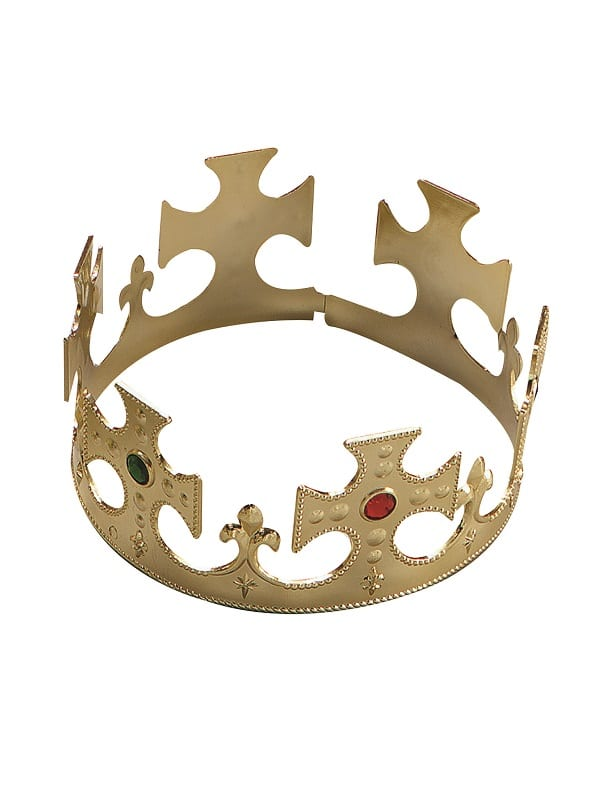 Crown Gold Plastic