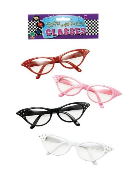 50's Glasses Female