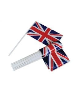 50 Union Jack Flags