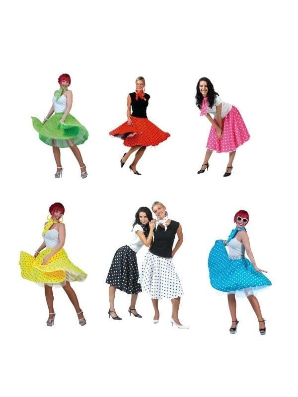 badc83a9f Rock'N'Roll 50's Skirt - Costumes R Us LTD Fancy Dress