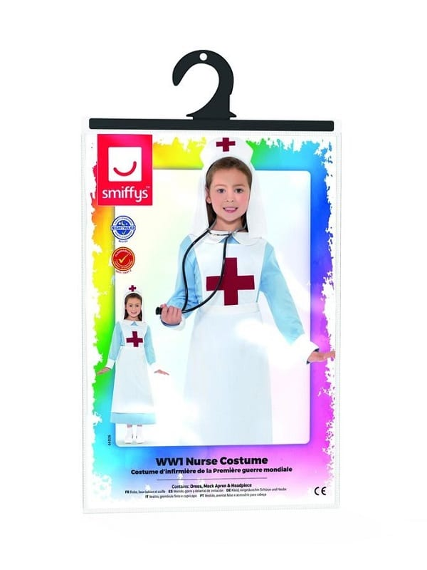 71d5f3c6fe545 World War 1 Child Nurse - Costumes R Us LTD Fancy Dress