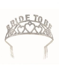 Bride To Be Glitter Tiara