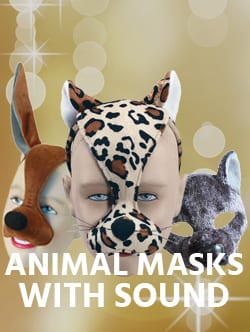 Animal Mask with Sound