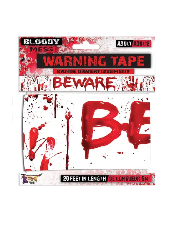 Bloody Beware Warning Tape