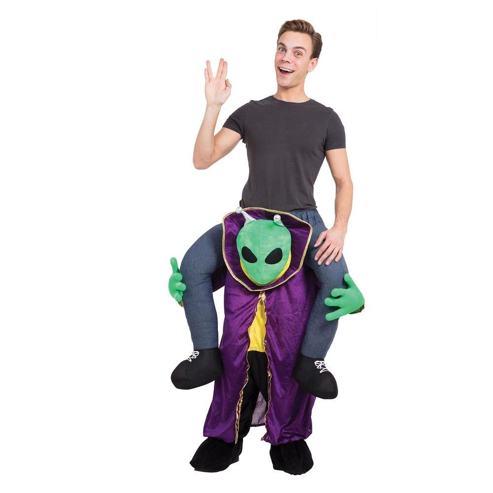 Alien Piggy Back Costume