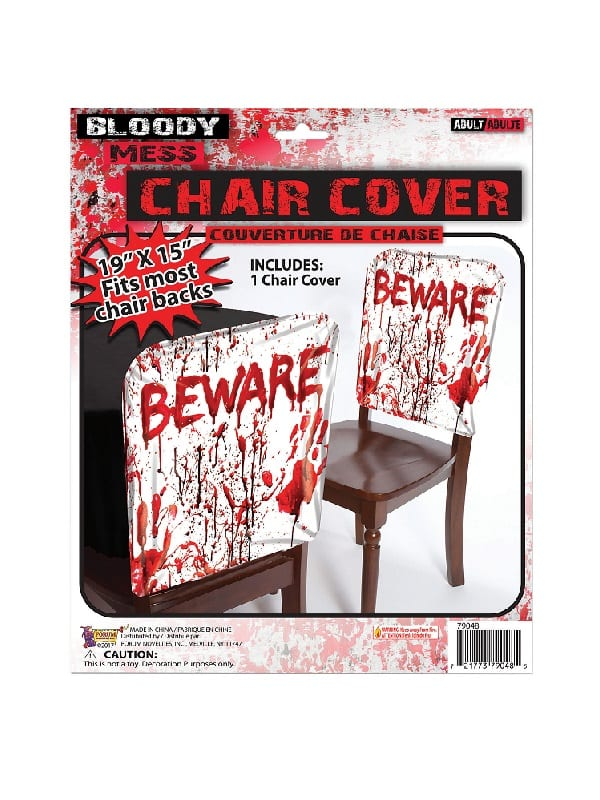 Bloody Beware Chair Cover