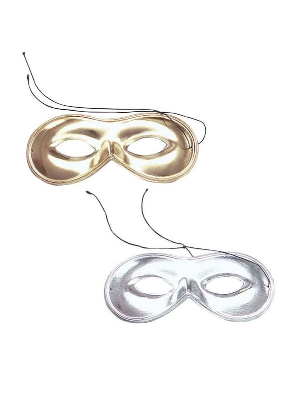 Domino Masks Silver Or Gold