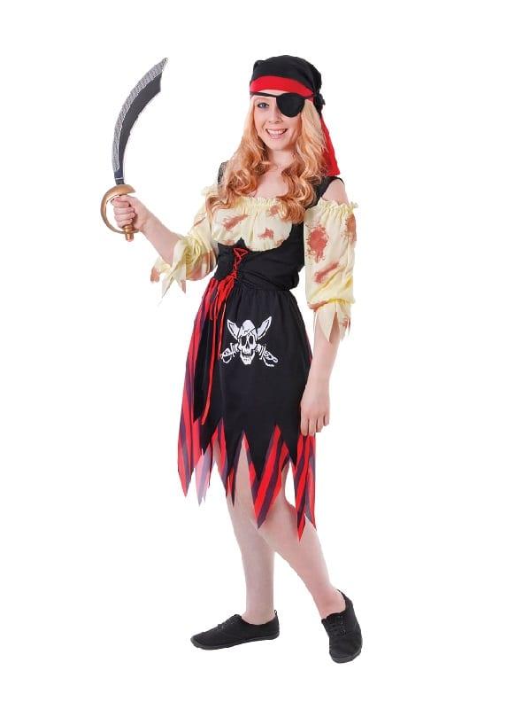 Bloody Teenage Pirate Girl