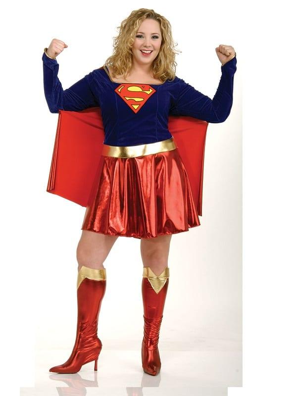 Supergirl Plus Size Costume