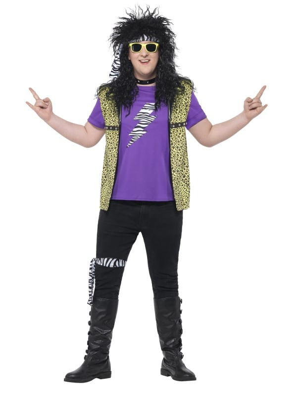 80S Rock Star Costume