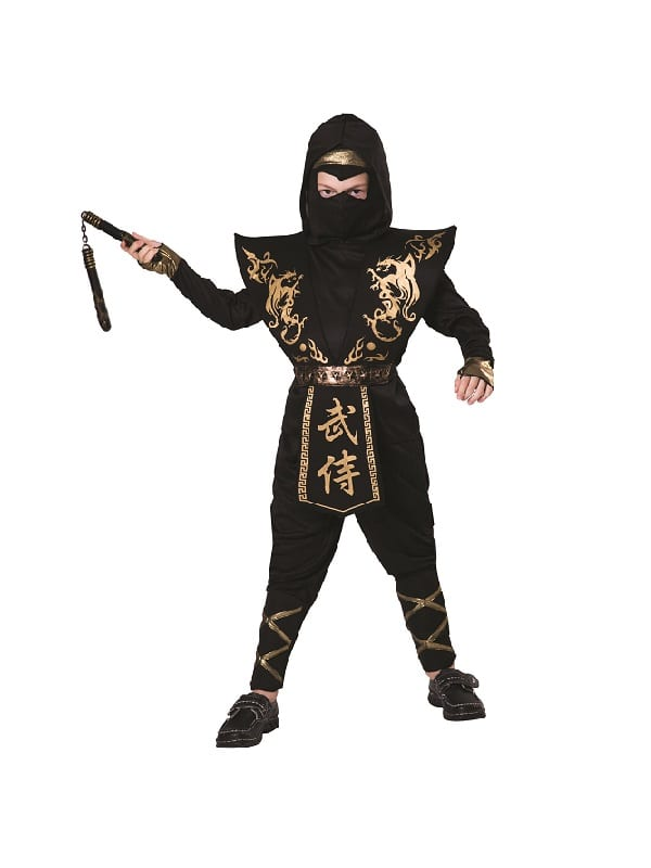 Child Gold / Black Ninja