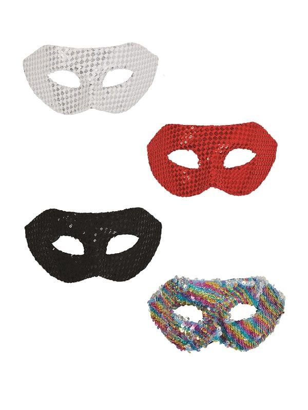 Sequin Eye Masks