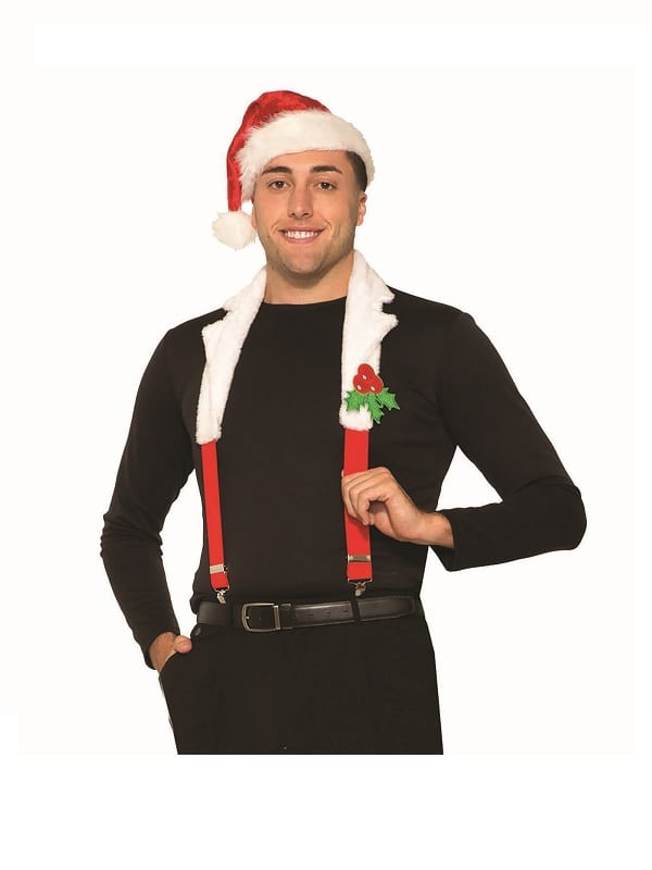 Santa Collar & Braces Set