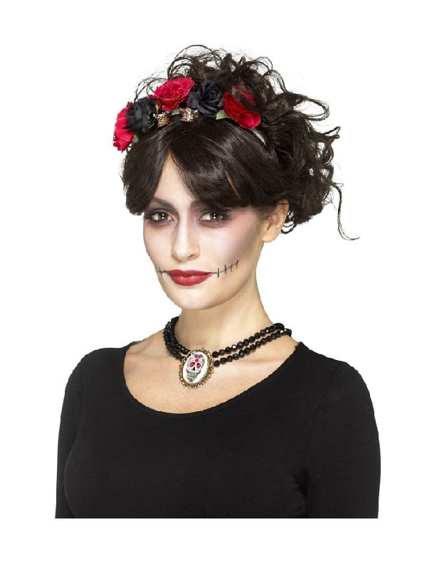 Day of the Dead Beaded Choker