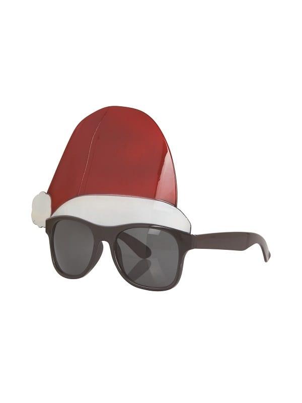 Santa Hat Glasses