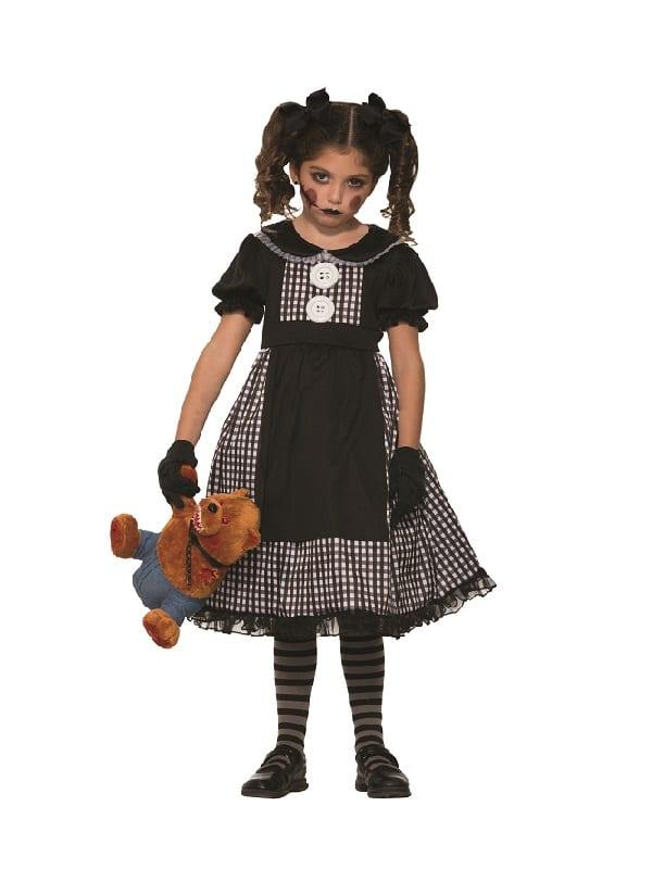 Child Dark Rag Doll