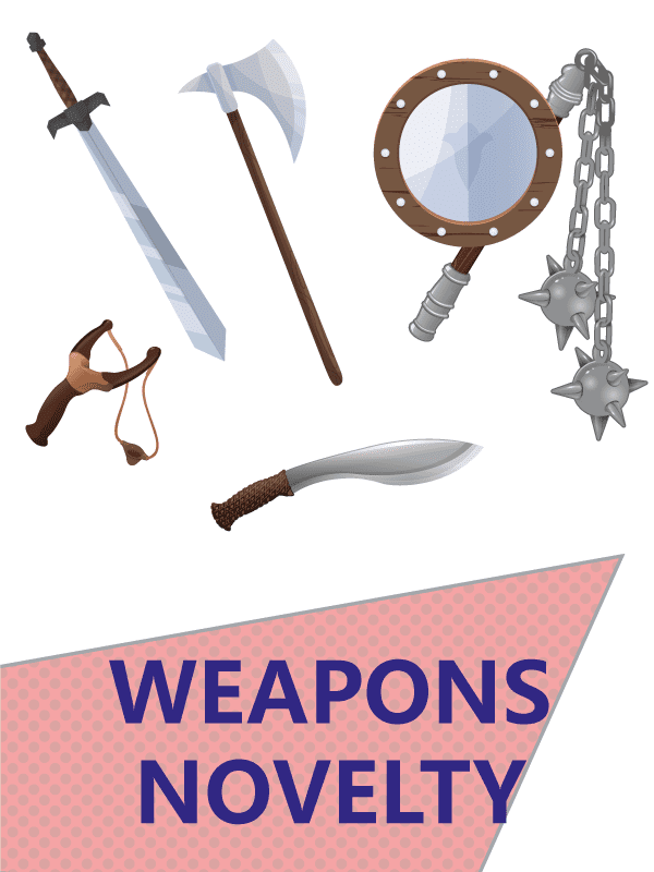 Weapons novelty