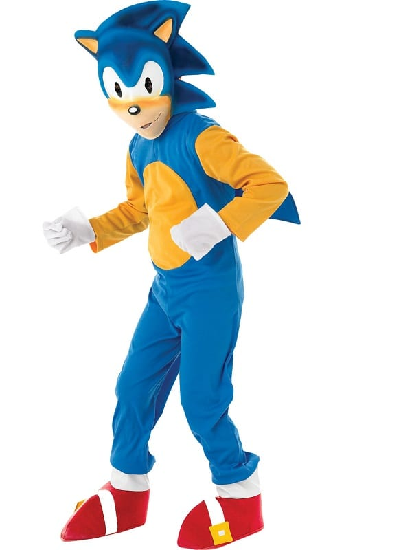 Sonic The Hedgehog Child Costume