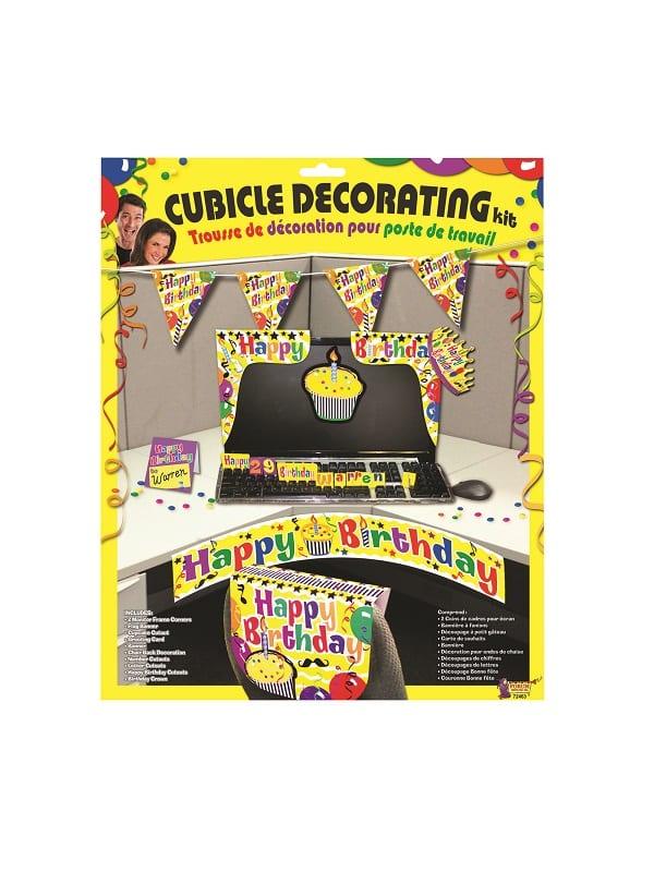 Happy Birthday Cubicle Desk Set