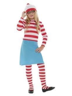 Child Where's Wally Wenda Costume