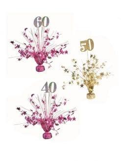 Birthday Number Balloon Weights