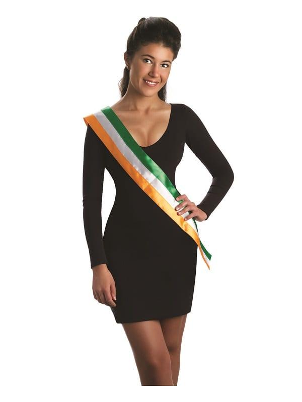 St Patricks Flag Sash