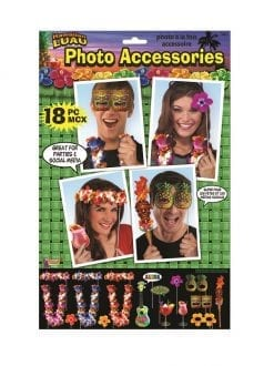 Hawaiian Photo Booth Set