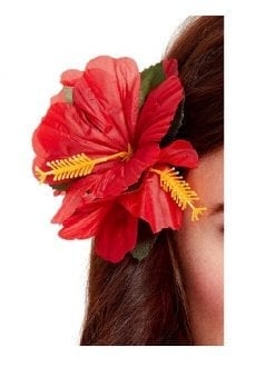 Hawaiian Flower Hair Clip