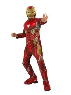 Child Deluxe Iron Man