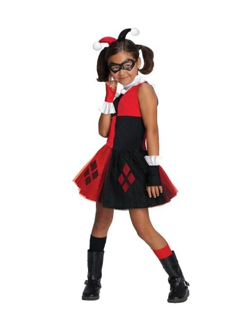 Child Harley Quinn Tutu Costume