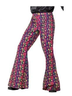 60s Psychedelic CND Flared Trousers