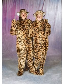 TIGER COSTUME FUR FABRIC ADULT