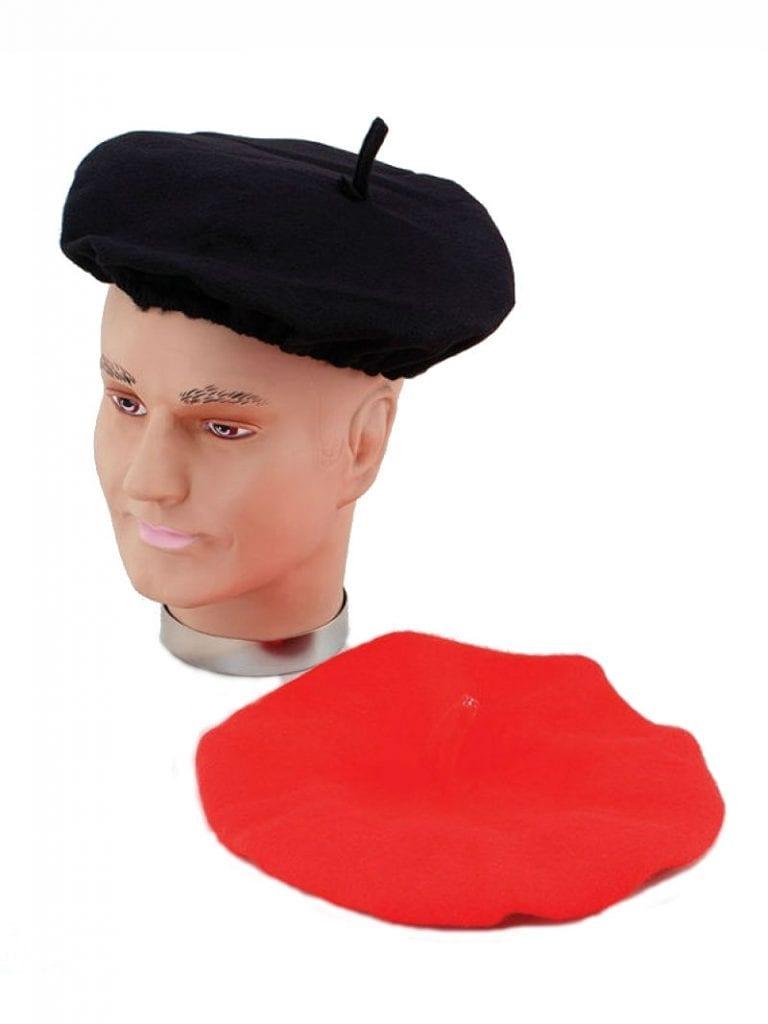 02152e47323a2 Home ... Sc 1 St Costumes R Us Ltd. image number 11 of costume beret ...