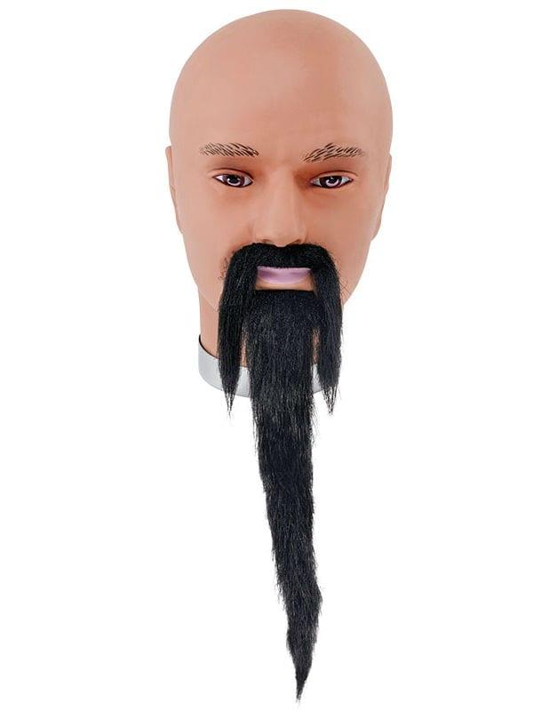 Black Wizard Beard + Tash