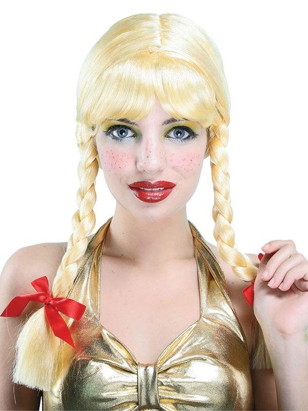 Pigtail Blonde Wig