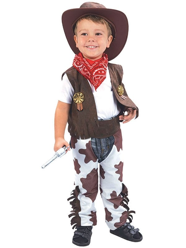 BOYS WILD WEST COWBOY TODDLER FANCY DRESS COSTUME 2-3 YEARS ...