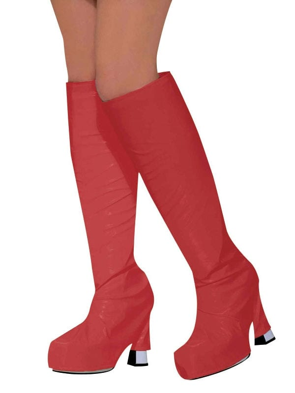 Go Go Boot Tops Red