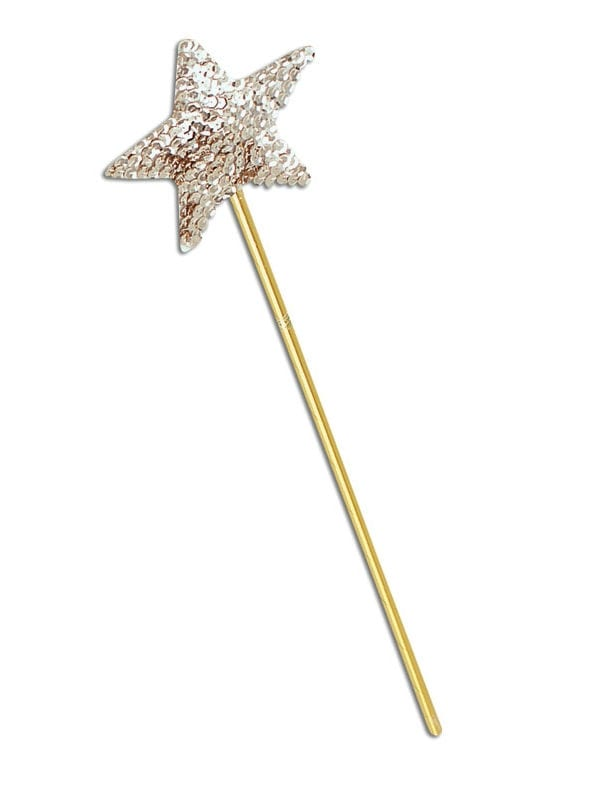 Angel Sequin Wand Gold