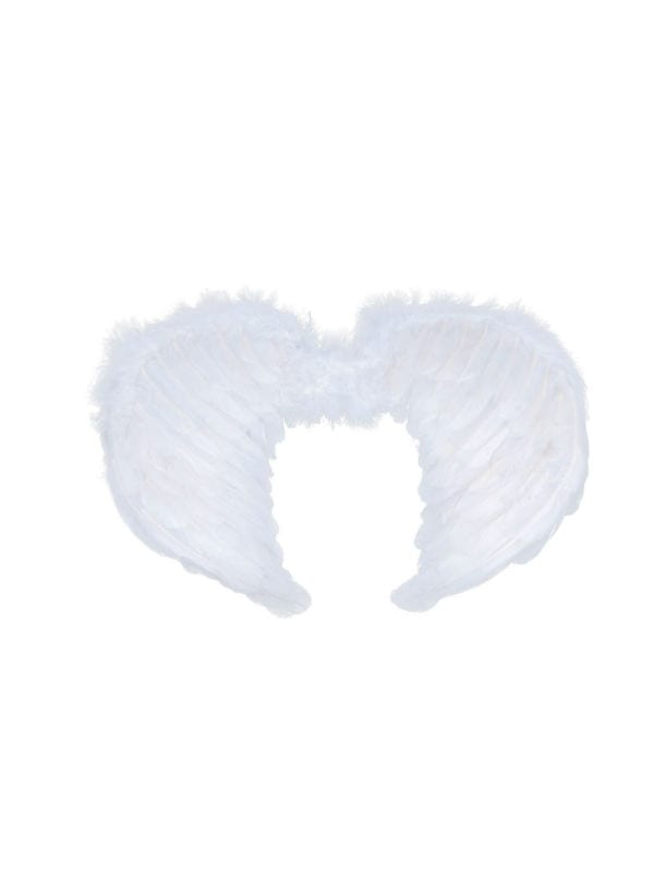 Angel Mini Feather Wings White