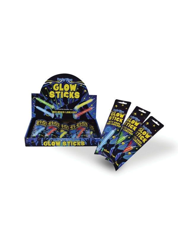 12 Glow Sticks 15cm