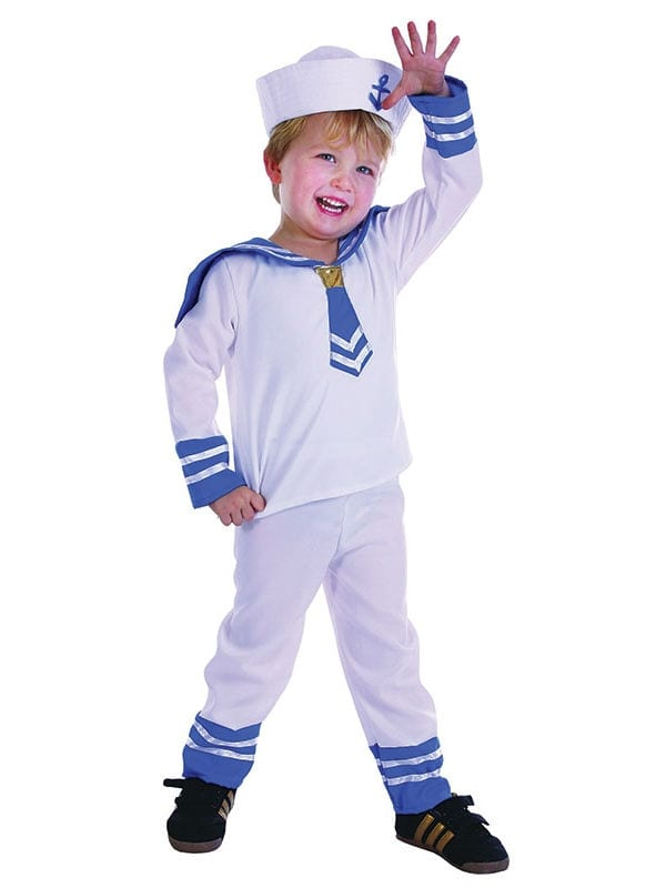 Sailor Boy Toddler - Costumes R Us LTD Fancy Dress