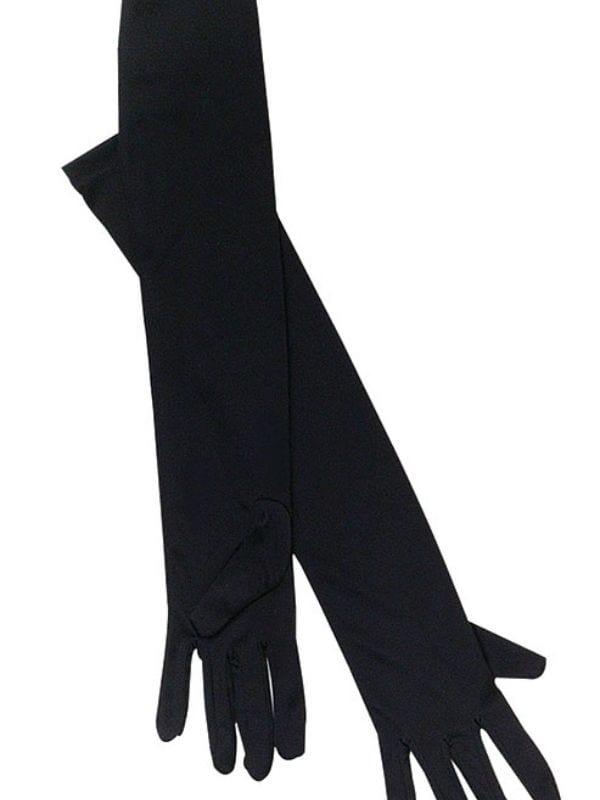 Black Opera Gloves