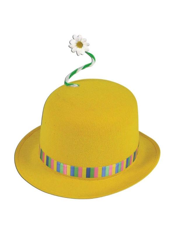 Clown Bowler Hat - Costumes R Us LTD Fancy Dress 445586ed82f1