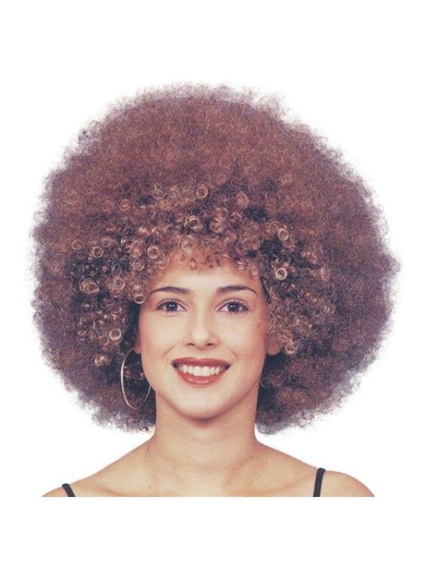 Beyonce Afro Wig Brown