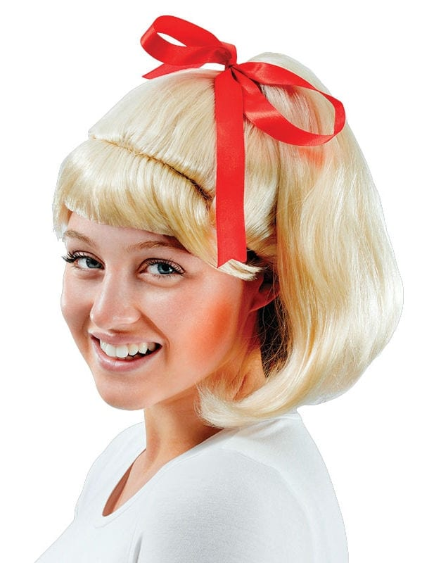 50's High School Ponytail Wig - Costumes R Us LTD Fancy Dress