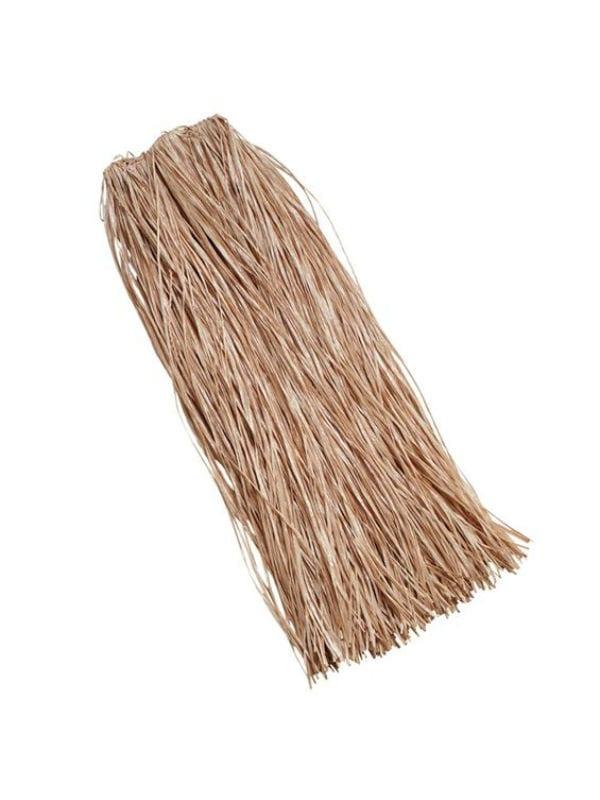 Grass Skirt Plain Long 90CM. Adult