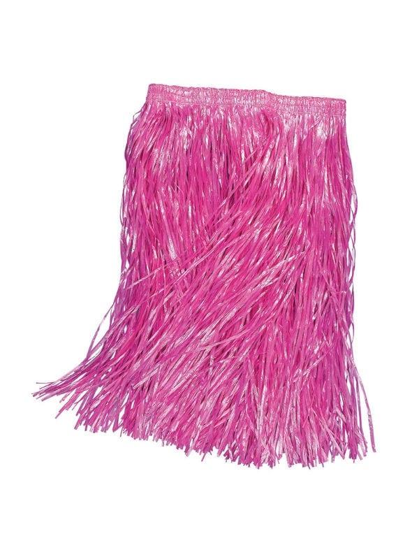 Child Pink Grass Skirt
